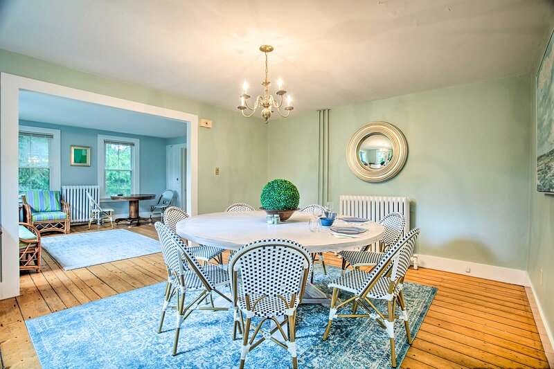 Dining Area | Pets Welcome | Built in 1890