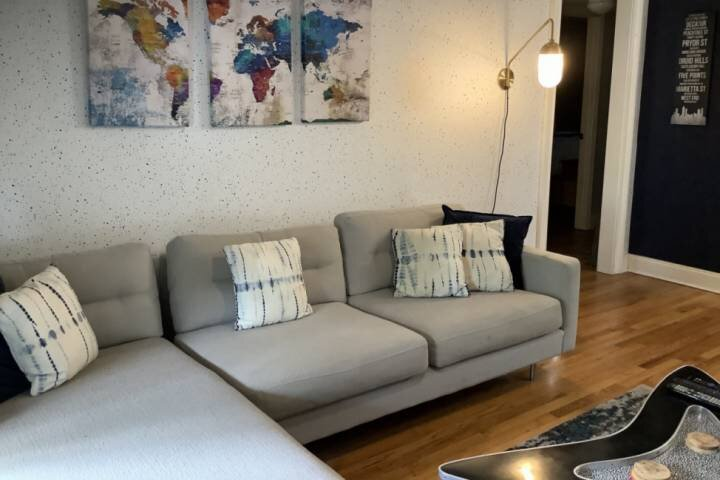 Family Room- comfy sectional