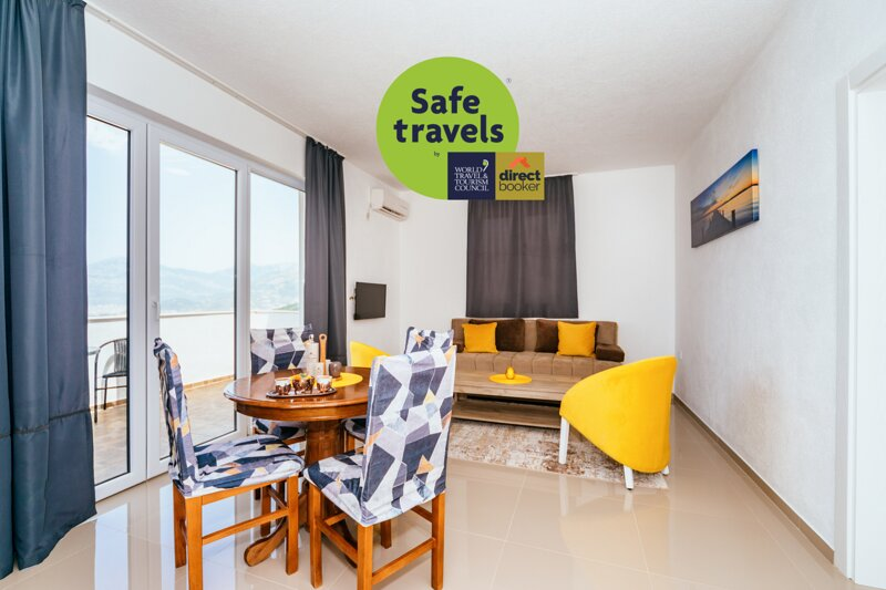 Apartments Nahla - Comfort Apartment with Seaview, holiday rental in Dubrava