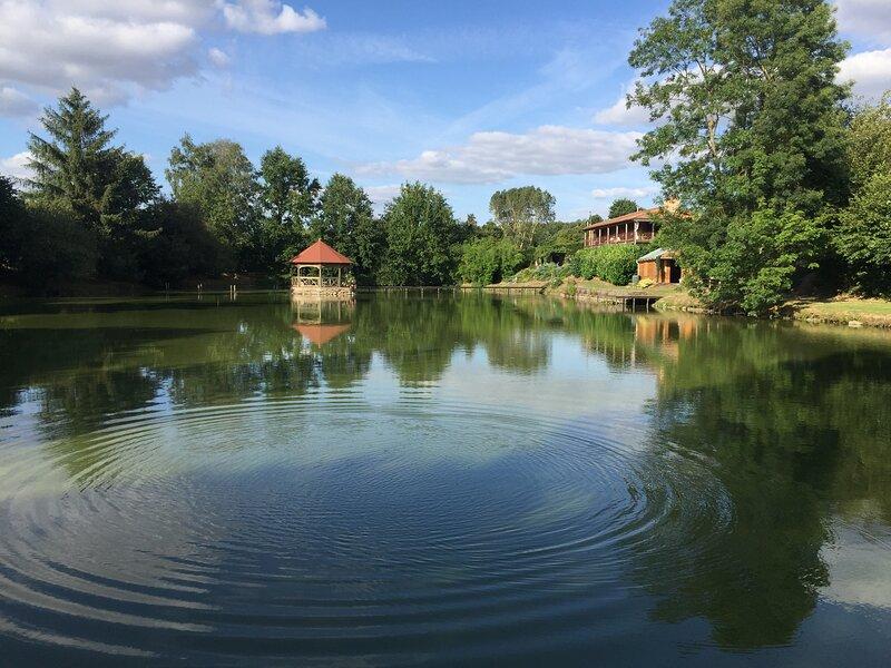 Lake Noble Lakeside Gite, Vendée, France, holiday rental in Saint-Mesmin