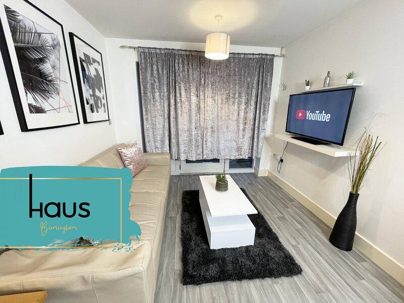Haus Apartments Birmingham Parkside City Center 1 Bed, location de vacances à Stirchley