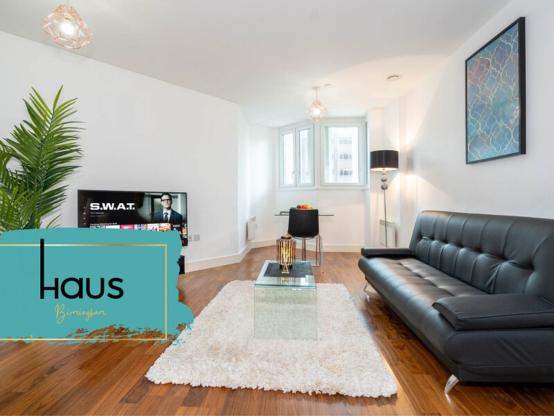 Haus Apartments Birmingham City Center 1 Bed, holiday rental in Digbeth