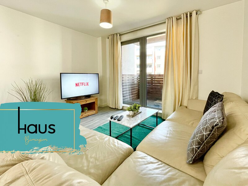 Haus Apartments City Centre with Balcony, holiday rental in Digbeth