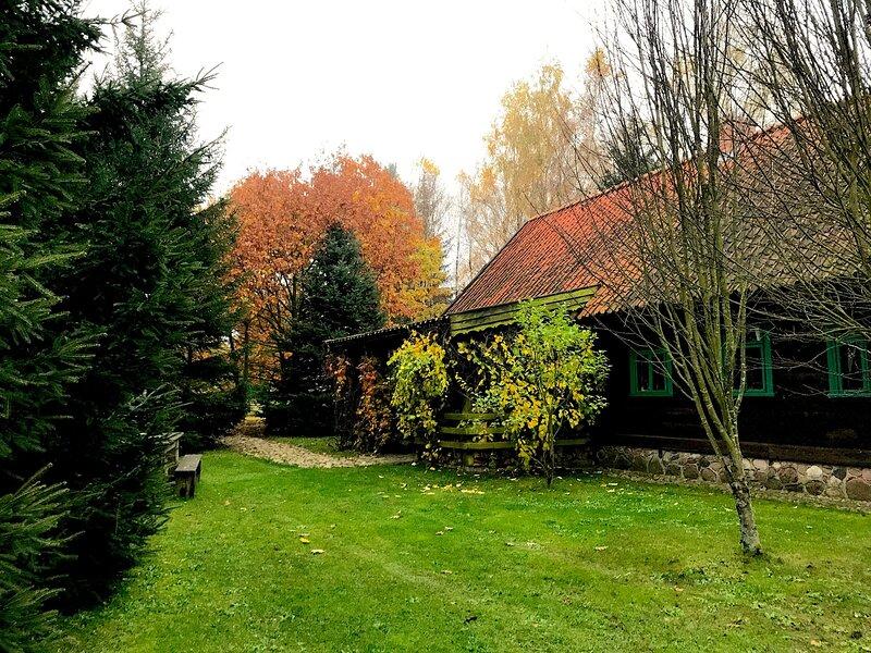 Zielony DOM na Mazurach, location de vacances à Wysoka Wies