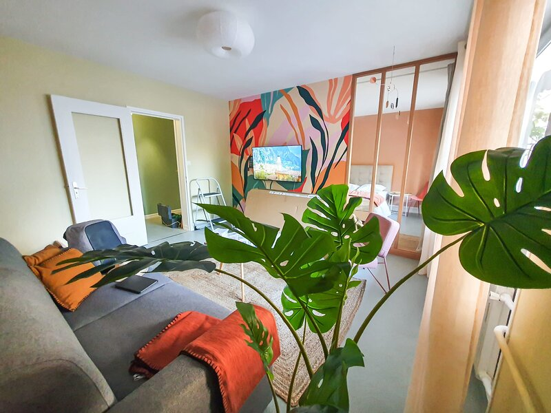 The Freedom - Newly Renovated 2BR in City Center, holiday rental in Pfastatt