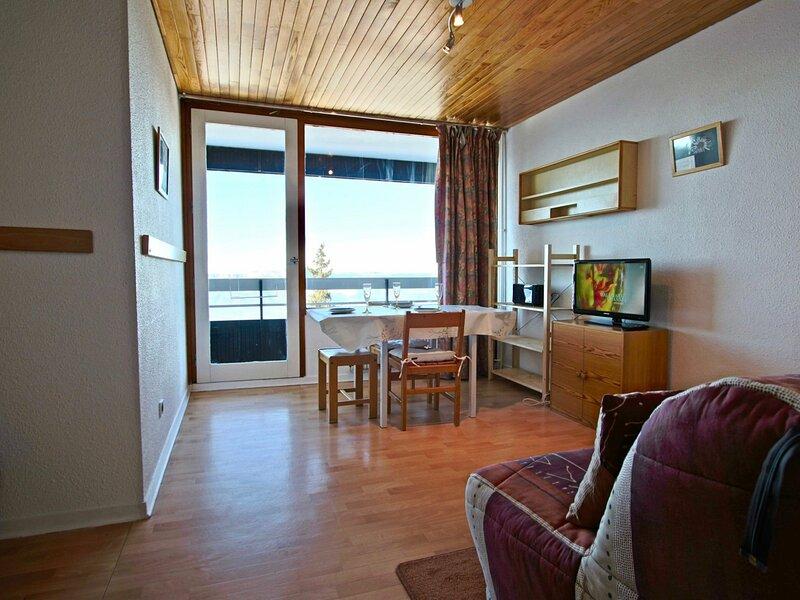 Spacieux studio 2 places proche pistes - vue panoramique vallée, alquiler de vacaciones en Chamrousse