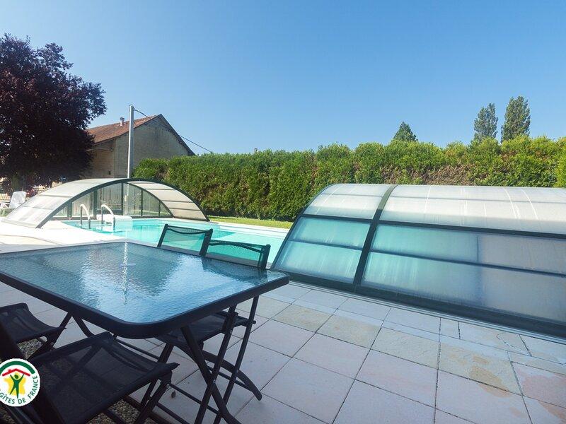 Le Méandre du Saugey, vacation rental in Saint-Bois