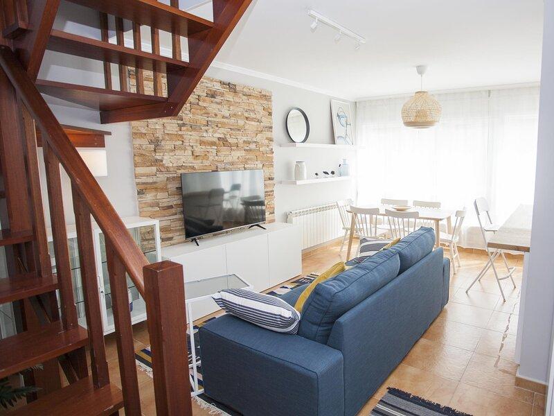 Duplex Esteiro in the Ria de Muros, holiday rental in Uhia