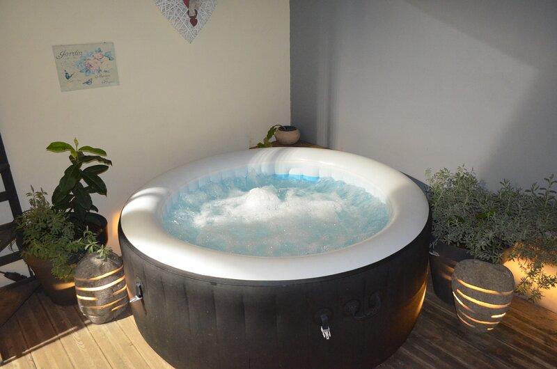 studio tout équipé avec jacuzzi, holiday rental in Arrondissement of Saint-Pierre