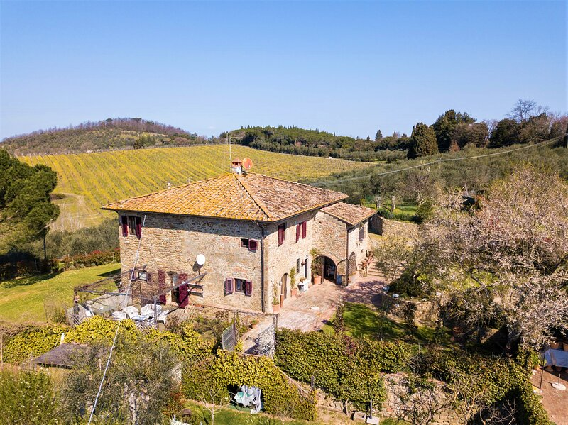 Villa delle Croci - Villa with pool in Florence, vacation rental in Mosciano