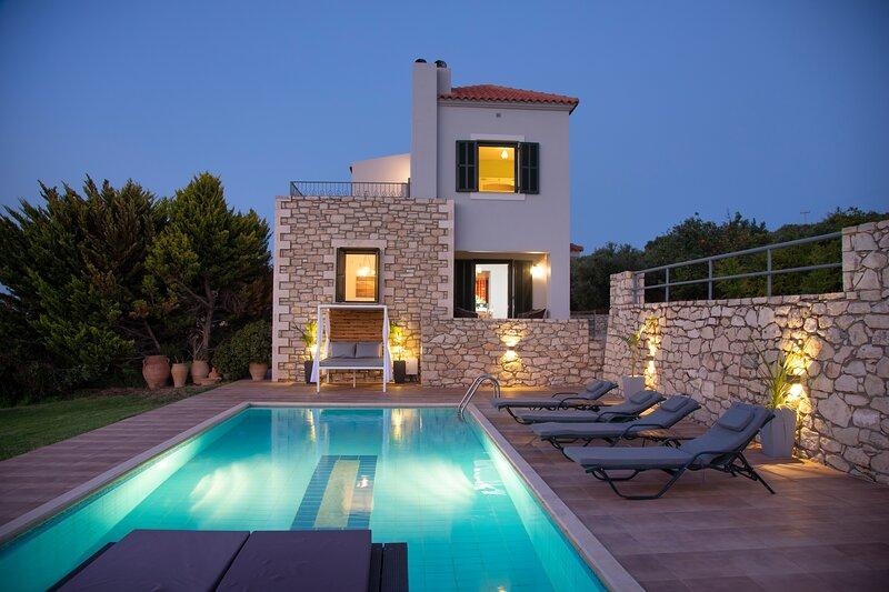 Villa Sunset, holiday rental in Eletherna
