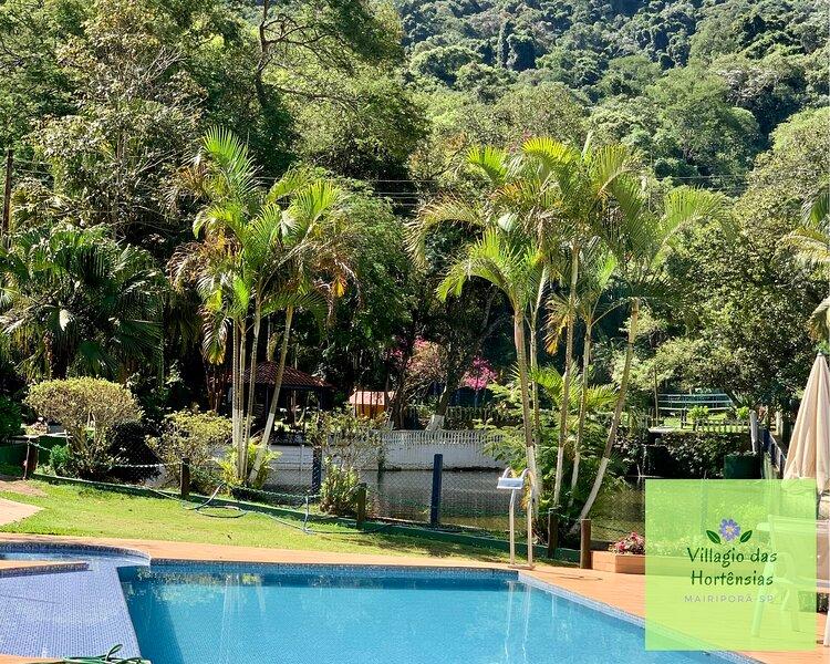 Aluguel para final de semana e temporada Sitio Villagio das Hortênsias, alquiler de vacaciones en Piracaia