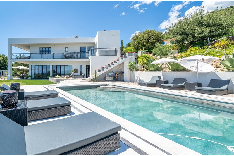 Villa Tourrettes, holiday rental in Coursegoules