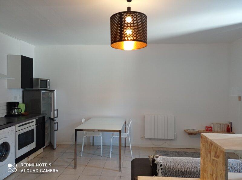 Cosy and comfortable studio close to Toulouse, location de vacances à Teillet