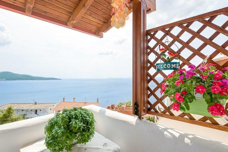 Lovely Apartment, sea view, Neos Marmaras, Greece, alquiler de vacaciones en Neos Marmaras