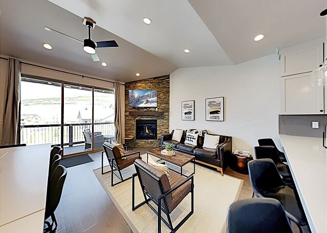 New Luxury Home in Black Rock Ridge - Mountain Views, Near Slopes & Trails, location de vacances à Peoa