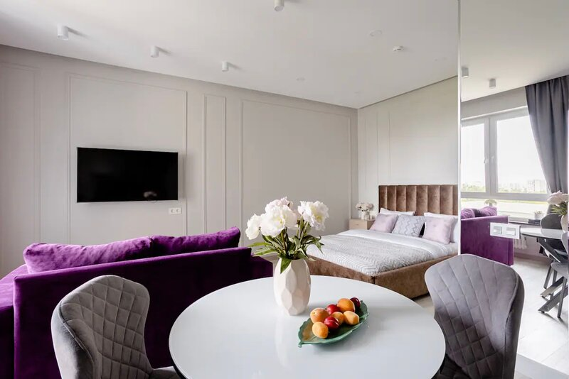 Aesthetic Mood in a new stylish apartment, vacation rental in Moscow