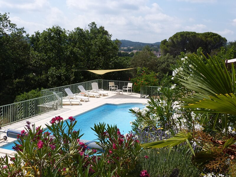 Apartment with swimming-pool, holiday rental in Cabasse