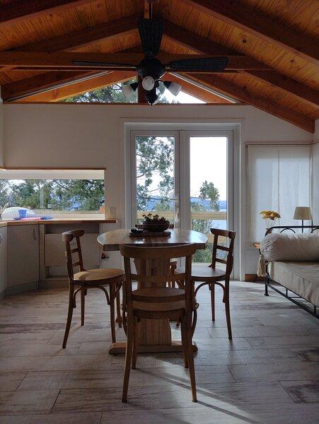 PEQUEÑA CABAÑA CON VISTA AL LAGO N.HUAPI (TAB 16), holiday rental in San Carlos de Bariloche