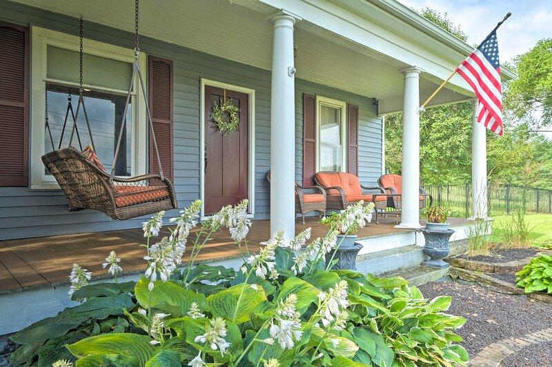 NEW! Serene Wilmore Home ~ 15 Mi to Dtwn Lexington, location de vacances à Lawrenceburg