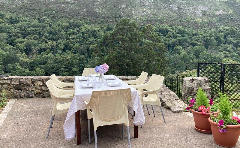 Casa Llumedian, en plena montaña asturiana, vacation rental in Berodia
