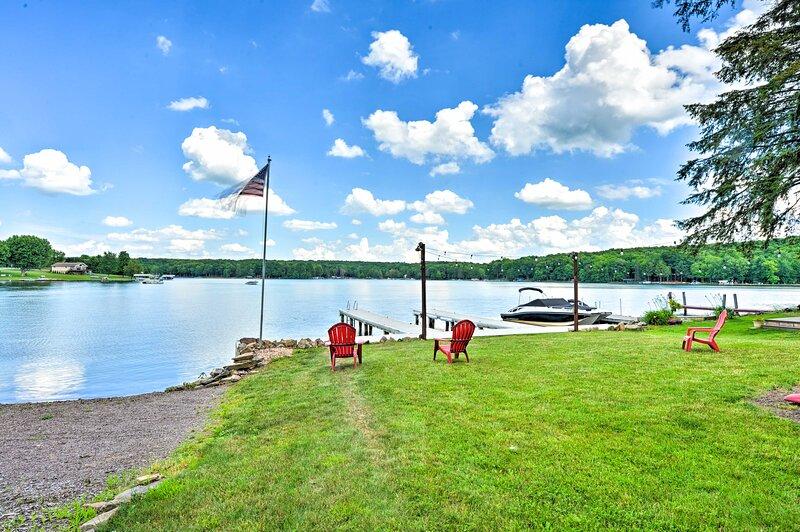 Direct Indian Lake Access   Private Lake