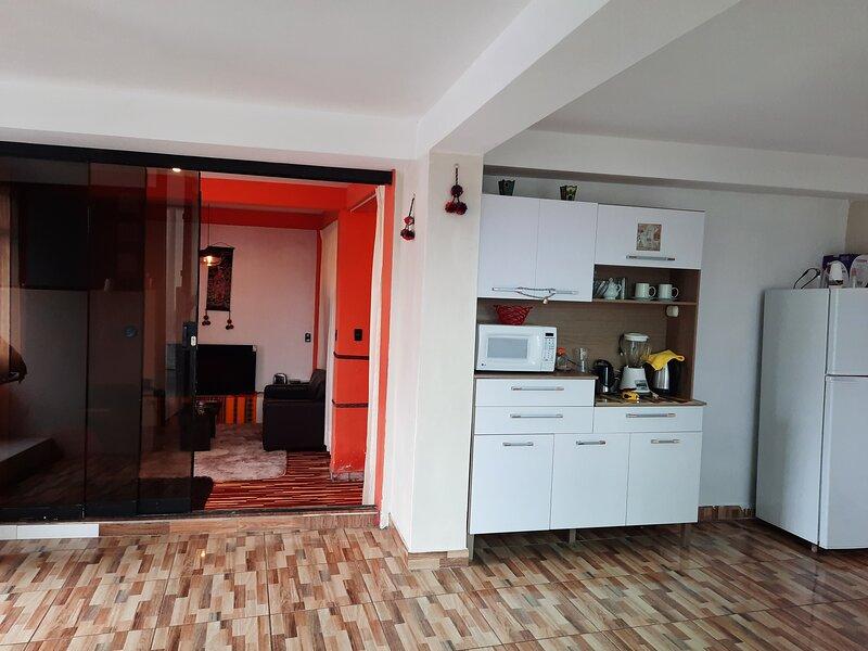 SUEÑOS DE UN CORAZÓN DE ORO, holiday rental in Lamay