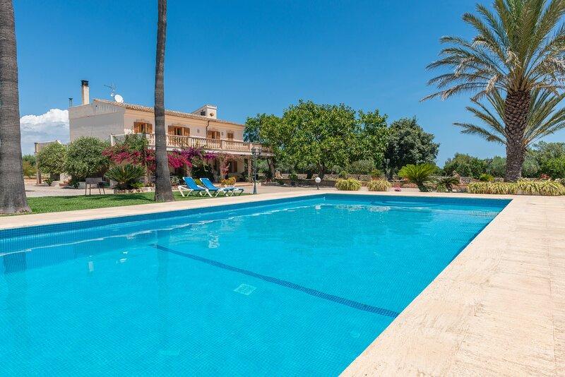 SA GARRIGA DEN DARDER - Villa for 11 people in Ariany, alquiler de vacaciones en Ariany