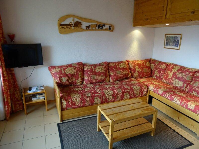 Appartement 3 pièces de charme pour 6 personnes à Vallandry proche des pistes, casa vacanza a Vallandry