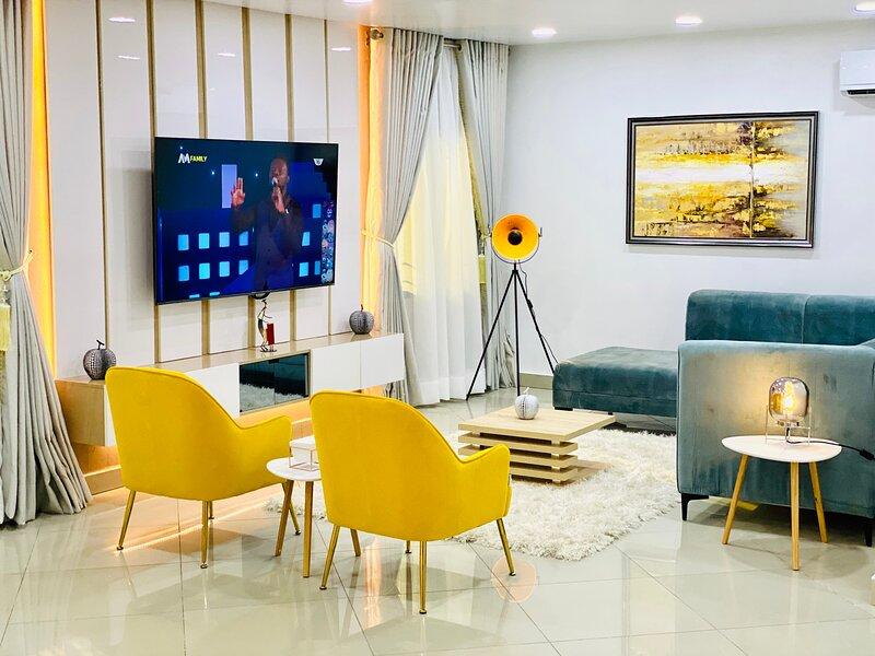 Shortlethomes - Camille's 5 Star Short let Apartment in Lekki Phase 1, aluguéis de temporada em Lekki