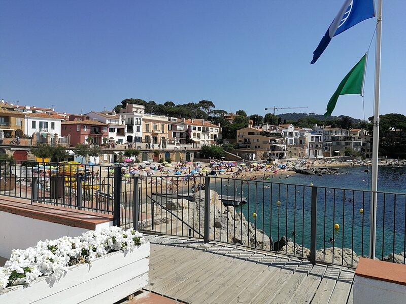 Uno de los balcones  más visitados de Calella de Palafrugell