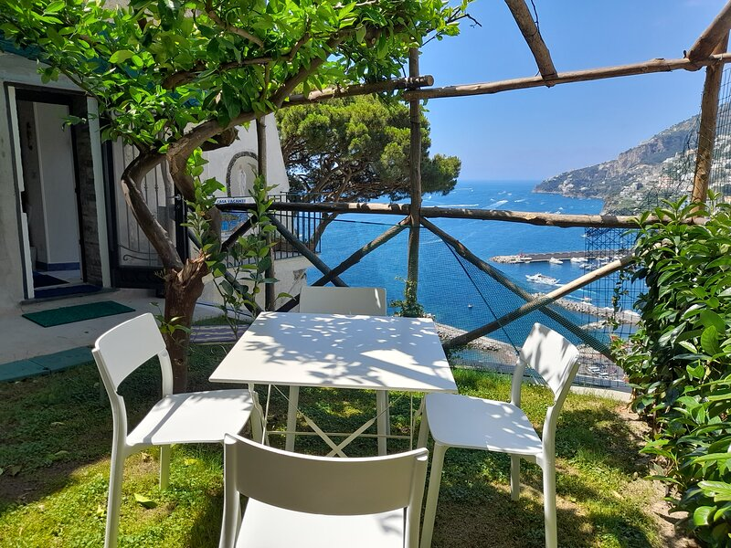 Maison de charme Amalfi sea view, alquiler de vacaciones en Amalfi