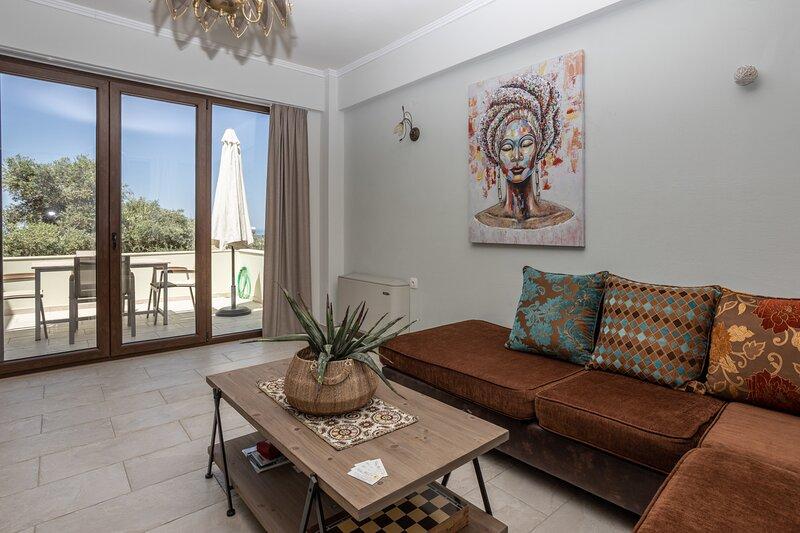 Villa Lemon With Private Pool, location de vacances à Maroulas