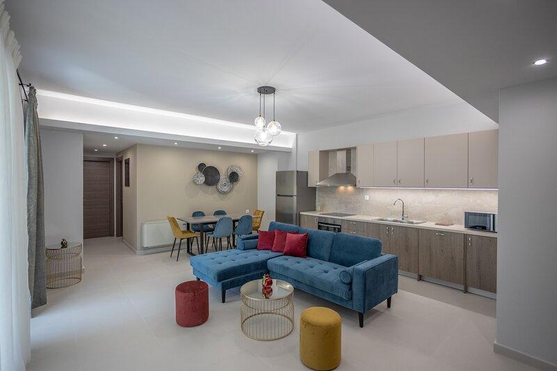 Verikokia Luxurious House With Garden, location de vacances à Maroulas
