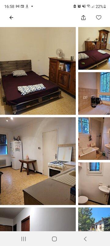 chambre double 10 min du centre-ville avignon, Ferienwohnung in Montfavet