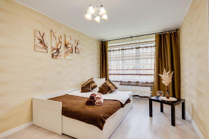 Уютная чистая квартира у м.Севастопольская, casa vacanza a Grigorchikovo