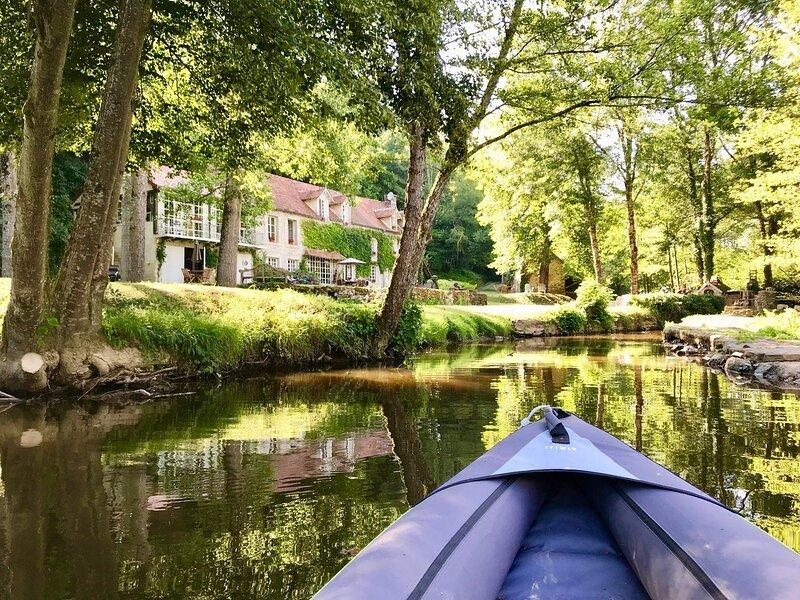Moulin de Sardeix 'COTTAGE', de ideale verblijfplaats in de natuur, holiday rental in Bonnat
