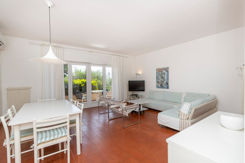 Fully air conditioned flat, WIFI and swimming pool, holiday rental in Polsa