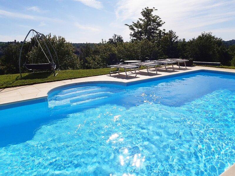 CONFINEDEISANTI B&B APARTMENT 8 beds, holiday rental in Aramengo
