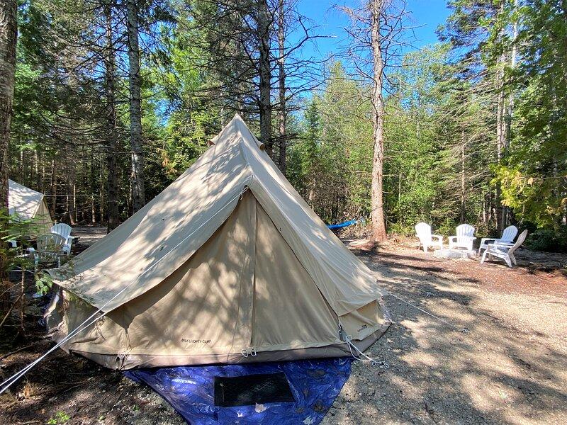 Milk N Honey Camp #3, vacation rental in Mackinac Island