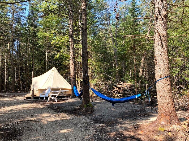 Milk N Honey Camp #1, vacation rental in Mackinac Island