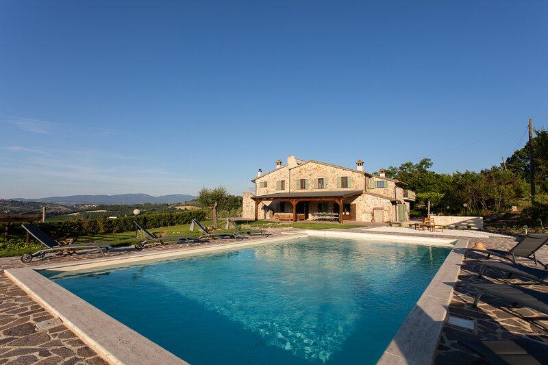 Villa Rosmarino, location de vacances à Todi
