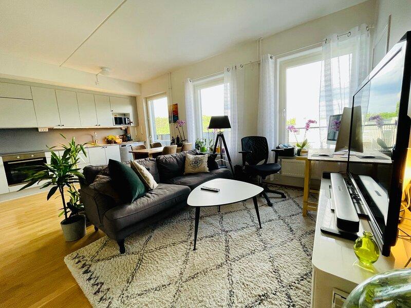 Charming apt, close to nature, 13 min from Stockholm City – semesterbostad i Sundbyberg