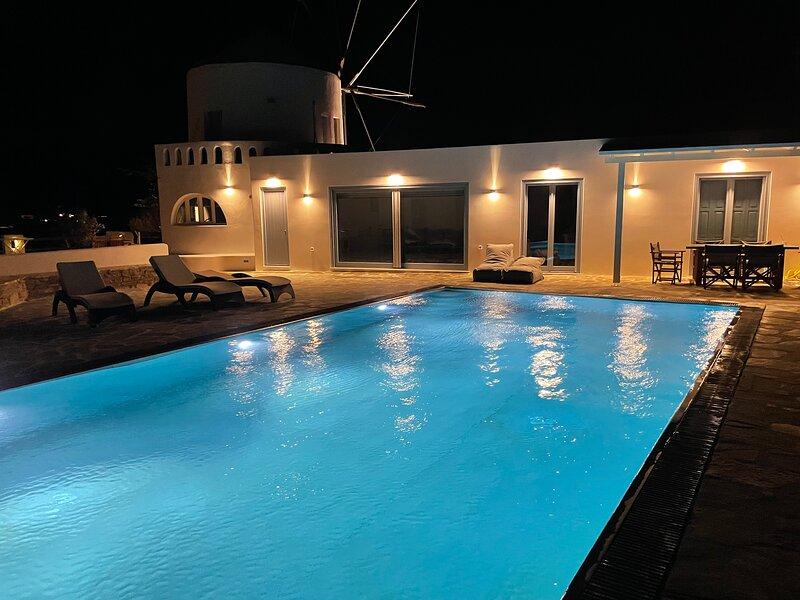Holiday Windmill House, vacation rental in Agios Georgios