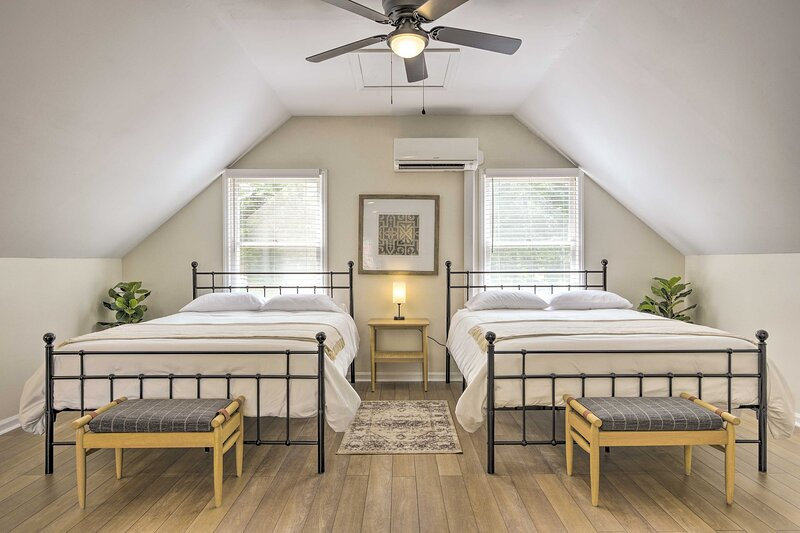 NEW! Relaxing Raleigh Retreat: Studio w/ Fire Pit!, vacation rental in Raleigh
