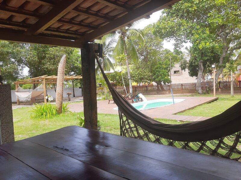 MegustaHouse Barra - Ampla casa 6 quartos /3 suites com piscina 50 mts da praia, holiday rental in Barra Grande