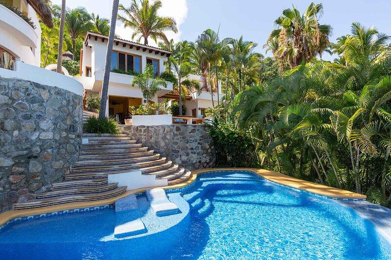 Villa las Palmas - Ocean View Villa! - San Pancho, alquiler de vacaciones en San Pancho