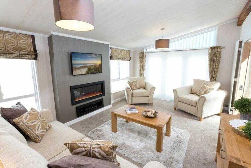 Saltire 26 3 bed Lodge Stewart's Resort, holiday rental in Ceres