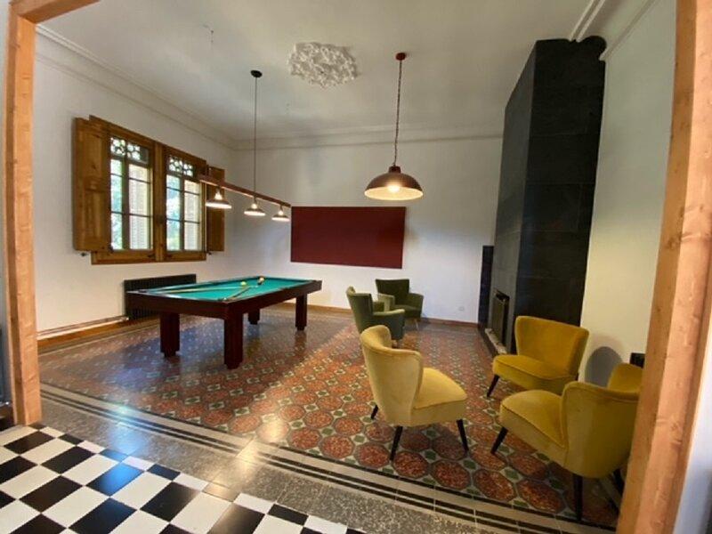 Ca l'Andreu Casa modernista, alquiler vacacional en Alella