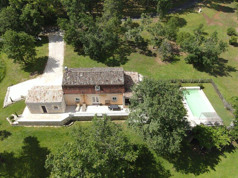 Gîte Les chardoules, location de vacances à Pressignac-Vicq
